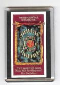 QUEEN'S OWN 2nd Bn REGIMENTAL COLOURS FRIDGE MAGNET